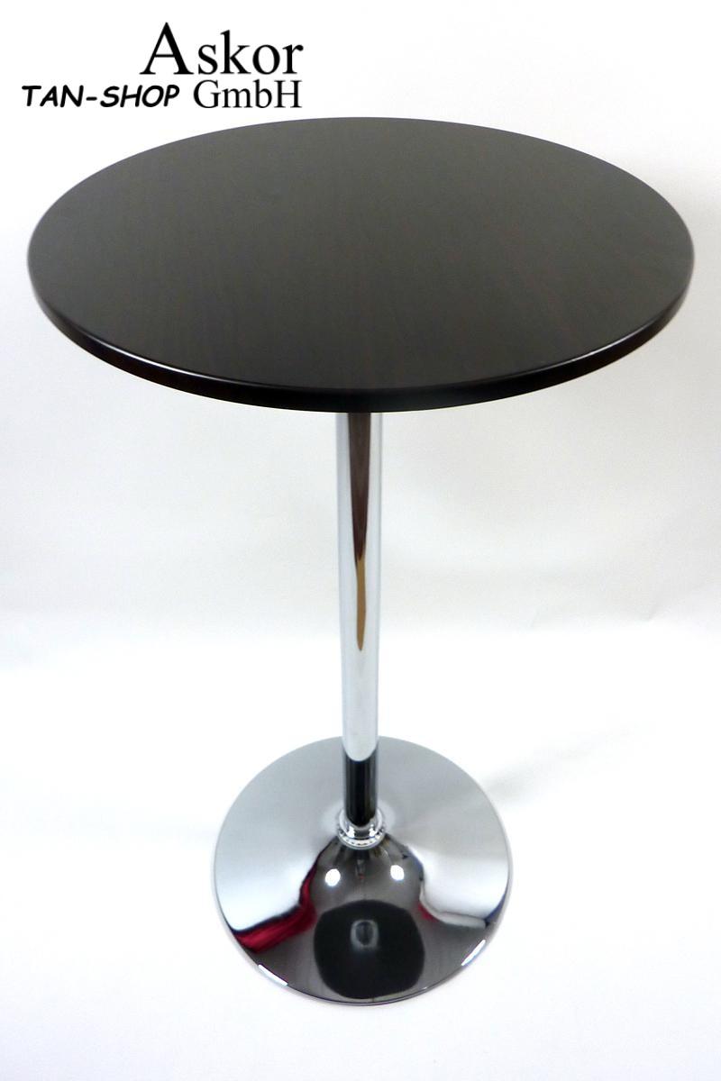 stehtisch holzfarben rund holz mdf 102 cm bistrotisch tisch bartisch. Black Bedroom Furniture Sets. Home Design Ideas