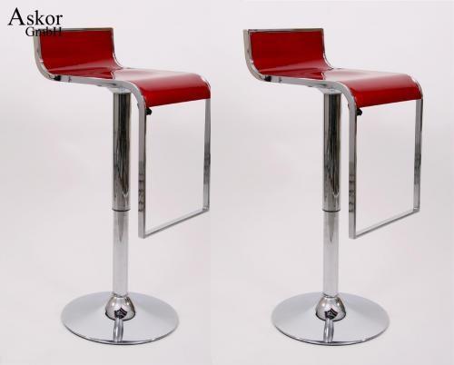 2x barhocker weinrot kunststoff drehbar h henverstellbar heusa gmbh. Black Bedroom Furniture Sets. Home Design Ideas