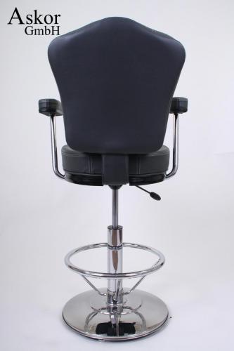 barhocker grau kunstleder auto return gaslift. Black Bedroom Furniture Sets. Home Design Ideas