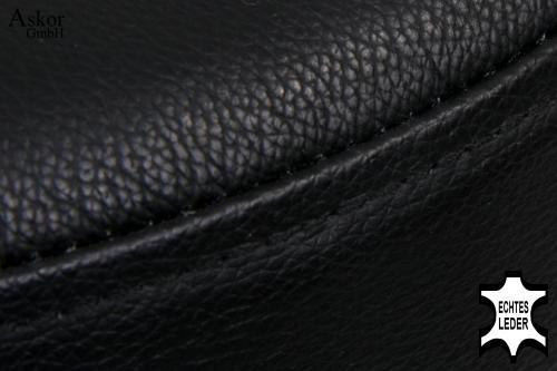 barhocker schwarz echt leder drehbar h henverstellbar gepolstert heusa gmbh. Black Bedroom Furniture Sets. Home Design Ideas