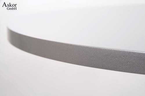 stehtisch silber rund holz mdf 84 104 cm fu st tze h henverstellbar drehbar runde fu st tze. Black Bedroom Furniture Sets. Home Design Ideas