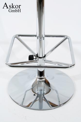 stehtisch wei rund holz mdf 102 cm fu st tze. Black Bedroom Furniture Sets. Home Design Ideas