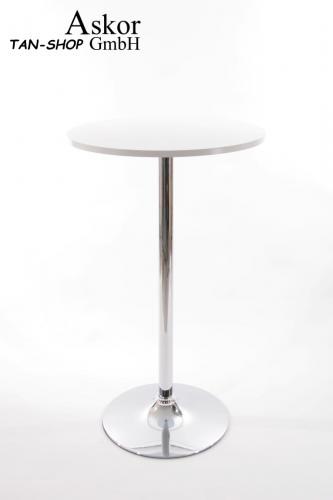 bistrotisch stehisch glas holz mdf h henverstellbar. Black Bedroom Furniture Sets. Home Design Ideas