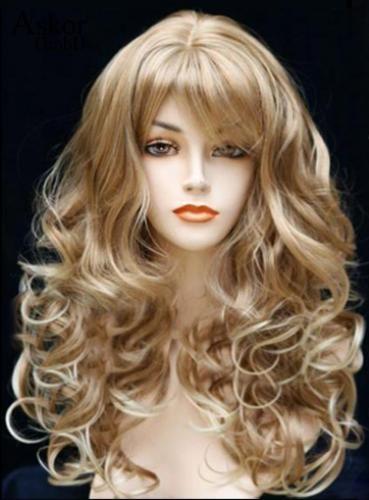 Blonde haare für lange stufenschnitt Lange Haare